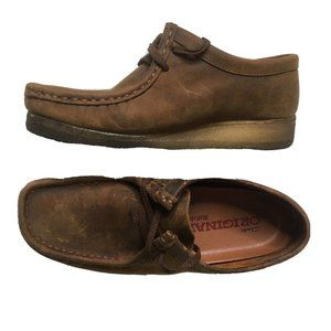 10 Clarks Originals Wallabee Brown Beeswax Leather